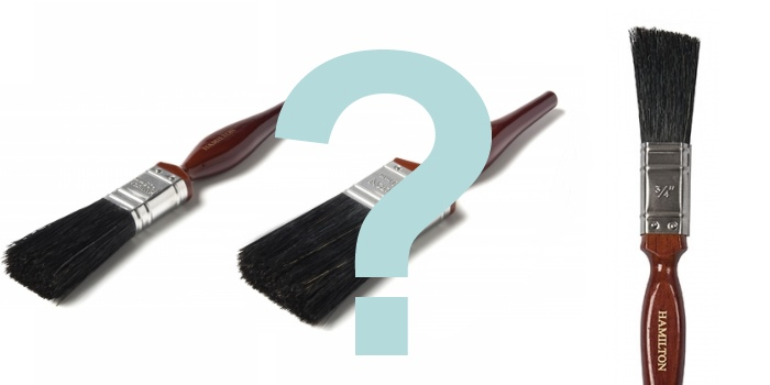 Which paint brush to use?